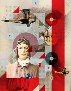 Pilots — Illustration - Joy Stain