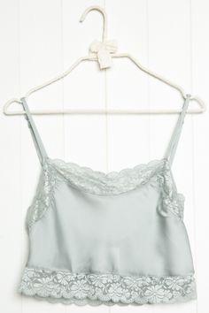 Brandy ♥ Melville | Dionne Silky Tank - Silk & Velvet Pieces - Clothing