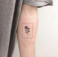 Minimalistic Rose by René