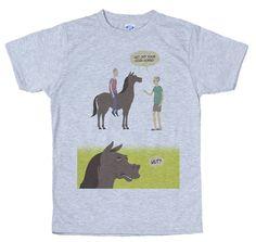 High Horse T-Shirt Design by giddyteescouk