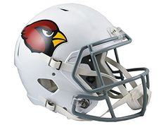 NFL Arizona Cardinals Riddell Full Size Replica Speed Helmet Medium Red ** Want to know more, click on the image.
