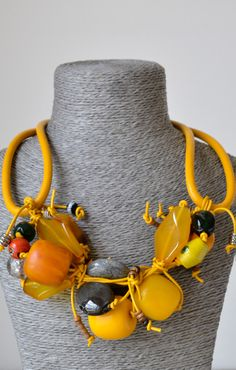 parula necklace by SHAMA por ti