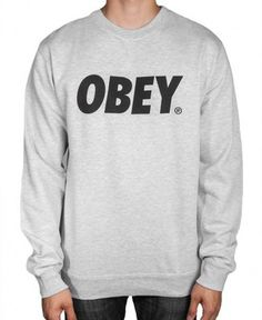 Obey - Font Crewneck Sweater - $49