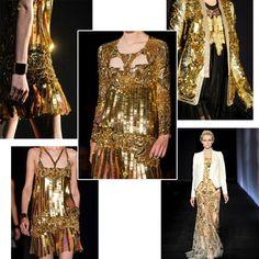 Roberto Cavalli 2012 SS Gold