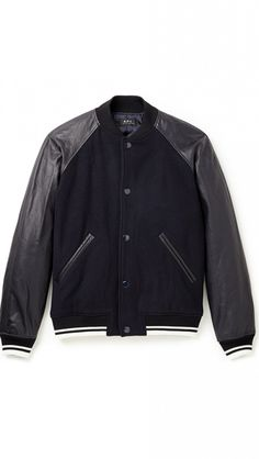 A.P.C. Kenickie Teddy Jacket // Make sure your man is the best-dressed guy on the block with this covetable jacket.