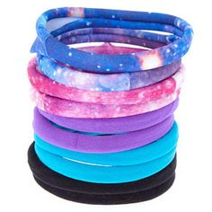 Shop the hottest styles and trends from cool jewellery & hair accessories to gifts & school supplies. Sensory Toys For Autism, Marble Mugs, Galaxy Pattern, Roll Hairstyle, Hair Bobbles, Mini Hoop Earrings, Galaxy Print, Skin Care Tools, Elastic Hair Bands