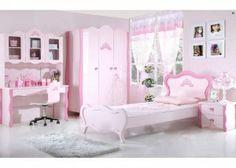Roze meisjeskamer, model Prinses   Meisjeskamers