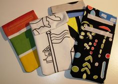 More phone and Ipod cases...