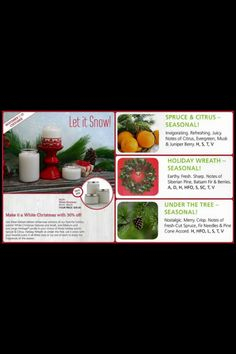 Don't you love the smell of a real fresh cut tree at Christmas? Well now you can have that wonderful fragrance Back for a limited time pick a large, med, & small heritage candle in Spruce & Citrus, Holiday Wreath, & Under The Tree. Mix & match or make them all the same. Burn one just outside your front door.  Your guest will love it. Visit https://cherylmcgregor.mygc.com/special/?=mixer6733167 or cut & paste this link in your browser. You'll be happy you did!