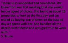 Testimonial for Jamie Geromini-Team Jane Kelly