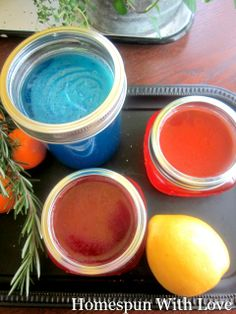 DIY ~ Homemade Air Freshners- No Harmful Chemicals!!