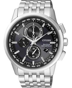 Citizen Eco-Drive Global Radio Controlled AT Sapphire Gents Watch Big Watches, Gents Watches, Cool Watches, Citizen Watches, Citizen Eco, Swiss Luxury Watches, Luxury Watches For Men, Casio Protrek, Hand Watch