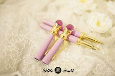 """truth2teatold: """" Little Fruit Bishoujo Senshi Sailor Moon Disguise Pen with functioning ballpoint or fountain pen, in classic colours and blue variation """""""