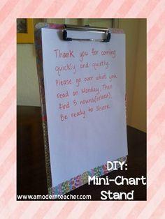 Mini Chart Stand