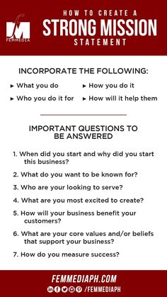Having a strong brand is important to any business and having a strong brand helps recognition and it helps you draw your ideal audience, clients and customers.  One of the basics in branding is having a mission stating a plan on how you are going to serve your target market and why consumers should support you.  We can help you create a strong mission statement using the guidelines below. SEND US A MESSAGE NOW o visit our website to learn more femmediaph.com  #femmediaph #GoBeyondHorizon… Business Sales, You Draw, Personal Branding, How To Start A Blog, Digital Marketing, Target, Success, Strong, Messages