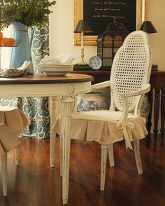 Here's our Dining Room Chair Seat Cushions collection at http://jamarmy.com/dining-room-chair-seat-cushions.html