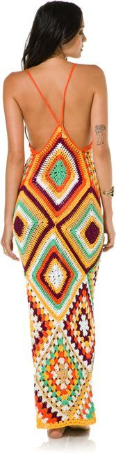 INDAH SYRA CROCHET MAXI DRESS > Womens > Clothing > MAXI Dresses | Swell.com