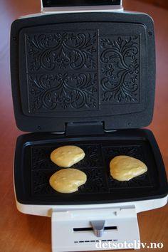 Goro som smakar krumkaker, men ikkje skal krummast må jo vere perfekt:-)
