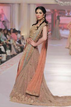 Umsha by Uzma Babar Collection at Telenor Bridal Couture Week 2015