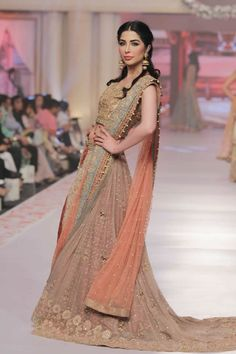 Telenor Bridal Couture Week 2015 Uzma Babar Dresses Collection Photo Gallery