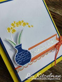 With a bow on top: Creating Kindness Design Team June blog hop. Varied Vases