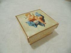caixa de MDF - decoupagem, acabamento em fita