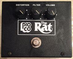 ProCo VINTAGE RAT DISTORTION Effects Pedal Reissue Big Box