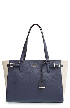 kate spade new york 'holden street - finn' pebbled leather tote available at #Nordstrom
