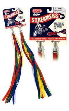 Retro Bike Streamers