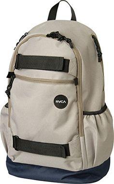 RVCA Mens Push Skate Backpack Dark Khaki *** For more information, visit image link.