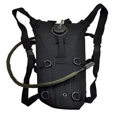 OCSOSO Sports 3L Hydration Survival System Climbing Hiking Cycling Backpacks With Water Bladder *** Visit the image link more details.