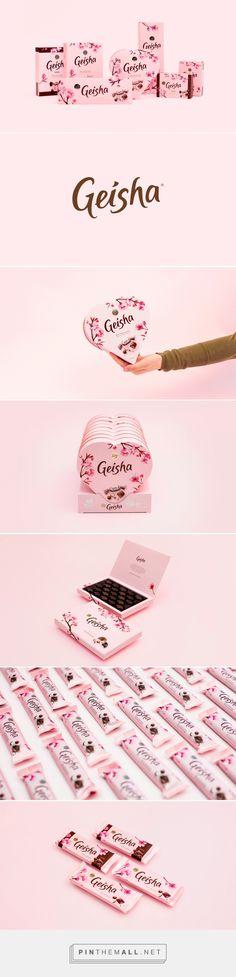 Fazer Geisha Chocolate Branding and Packaging by Pentagon Design | Fivestar Branding Agency – Design and Branding Agency & Inspiration Gallery