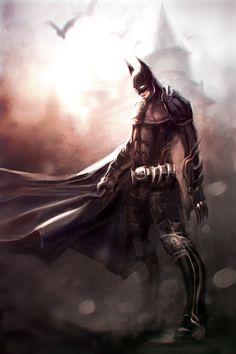 youngjusticer:  Legendary. Batman, by Paul Farquhar.