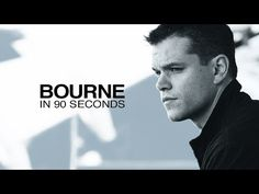 Matt Damon Gives an Action-Packed Recap of All the Jason Bourne Films in 90 Seconds