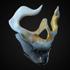 Death Masks, Laura Peltomäki - New ideas Fantasy Character Design, Character Design Inspiration, Character Art, Oni Mask, Skull Mask, Armor Concept, Concept Art, Mascaras Halloween, Arte Dope