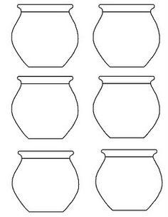 fish bowl template - Fish Bowl Coloring Page Printable
