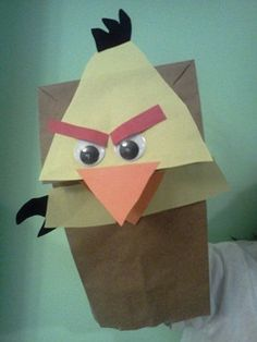 angry birds puppet