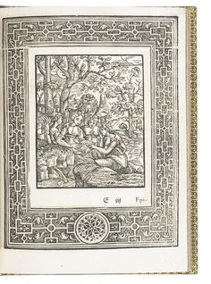 Rare first and only German edition, with 20 emblematic woodcuts