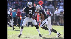 Oakland Raiders Terrelle Pryor, Rashad Jennings