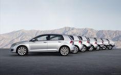 Volkswagen Golf VII evolution wallpaper