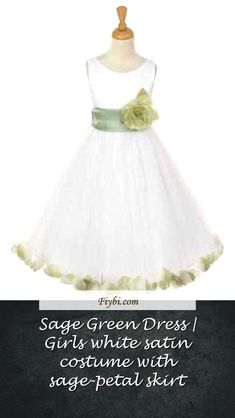 """""""Sage Green Dress, this is the subject of this title... Hey my dear follower. We have patched up these 4 Sage Green Dress pins from 451+ different images for you. While doing this, Our Editors paid attention to the fact that there are designs that can be popular in this year and many more. Please click on the 'Read More' button to get the rest of the content associated to the Sage Green Dr... White Satin Dress, Satin Dresses, Sage Green Dress, Girls Dresses, Flower Girl Dresses, Rest, Content, Costumes, Popular"""