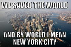 Every superhero movie ever…