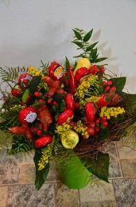 Dárkové květiny   Autor: Magda Lebišová 70th Birthday, Plants, Author, Planters, Plant, Planting, Planets