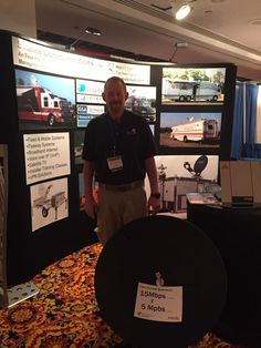 New Jersey Emergency Preparedness Conference booth #4 Satellite solutions