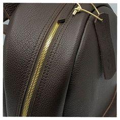 #cevaebag #zaino #leathercraft #artisanal #fashionlover #zip #details  #madeinrome Leather Craft, Rome, Artisan, Inspirational, Zip, How To Make, Leather Crafts, Inspiration, Craftsman