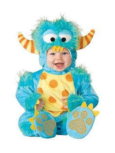 Infant Toddler Lil Monster Costume | Infants & Toddlers Dinosaur and Reptile Halloween Costumes