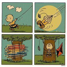 이미지 Peanuts Cartoon, Peanuts Snoopy, Snoopy Comics, Funny Comics, Charles Shultz, Lucky Luke, Charlie Brown And Snoopy, Classic Comics, Snoopy And Woodstock