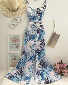Summer Trends, Women's Summer Fashion, Go Shopping, Frocks, Boutique, Jumpsuit, Summer Dresses, Curves, Chic