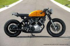Yamaha XV750 Virago custom by Hageman Motorcycles