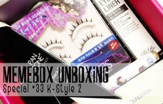 Prairie Beauty: Memebox Special #33 K-Style 2 Unboxing